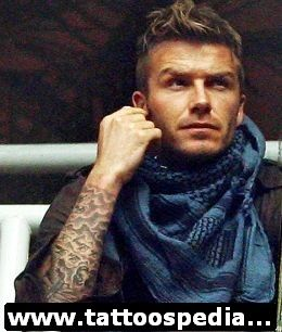David Beckham Tattoos 3 - http://tattoospedia.com/david-beckham-tattoos-3/