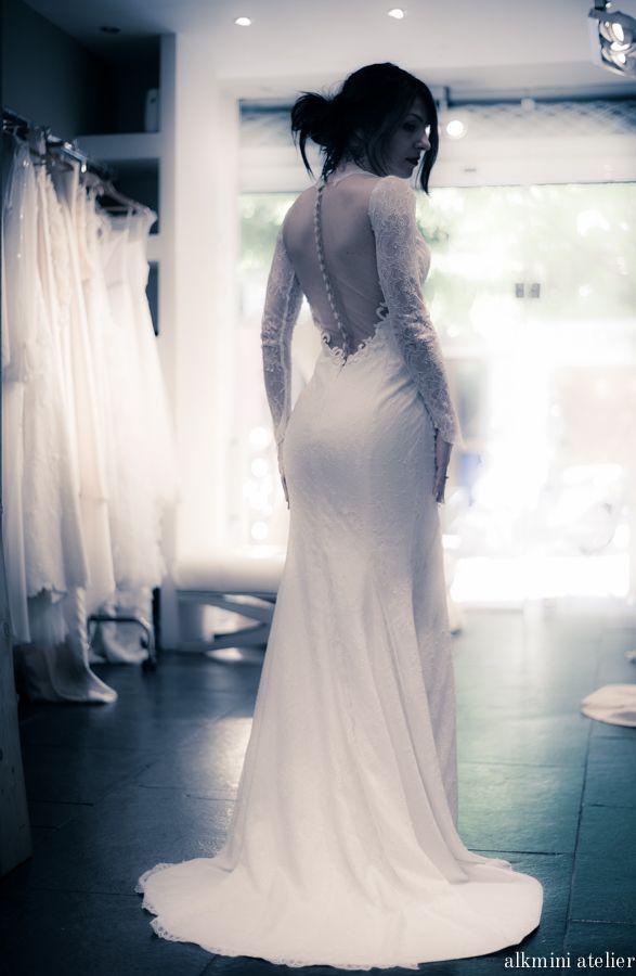 Alkmini atelier bridal fitting. www.alkmini.info http://www.alkmini.info/fashion-blog/2015/10/21/-atelier-alkmini