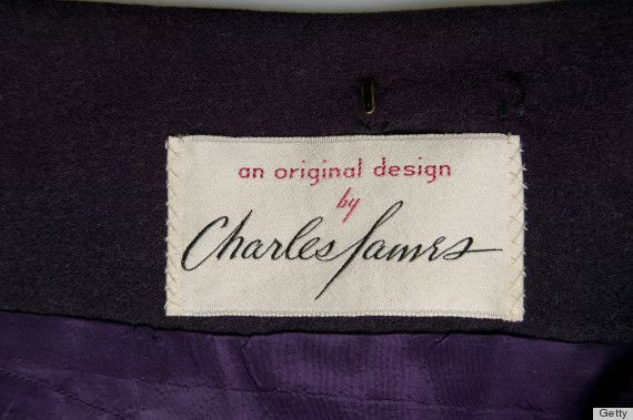 Charles James label.
