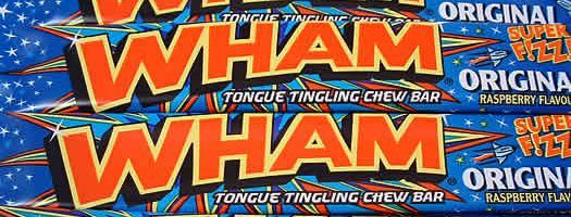 WHAM BARS,gelatine-free gelatin free wrapped wham bars 80s sweets Chewy   Soft  Bars   Wrapped  Nostalgic  Mccowans  Chewy & Soft  Bars & Wrapped  box boxes 1970,retro sweets,retro sweetshops,liquorice sweets,toffees,toffee sweets,boiled sweets