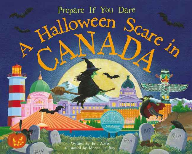 A Halloween Scare in Canada (Sourcebooks)