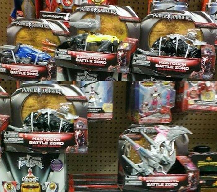 Nuevos Power Rangers