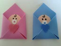 Bebê no envelope