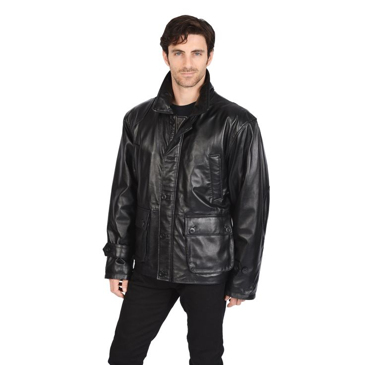 Excelled Men's Car Coat