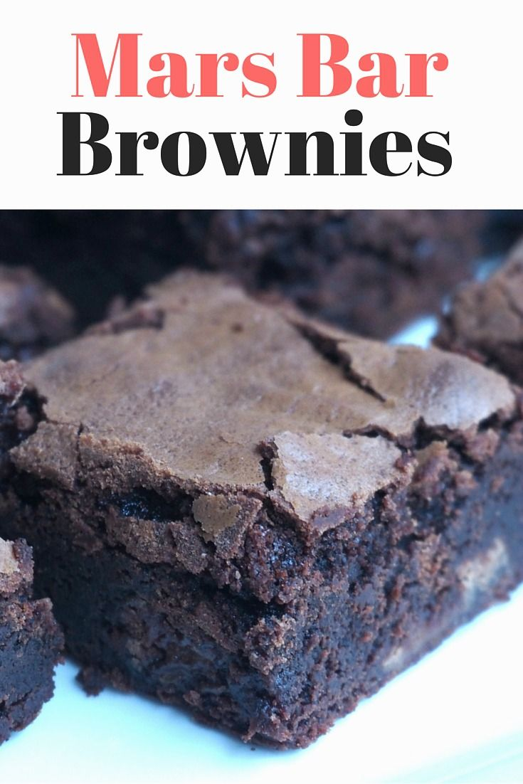 These Mars Bar Brownies are just mars-vellous!