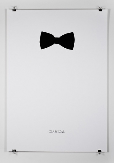 classic: Bows Ties, Picture-Black Posters, Negative Spaces, Posters Design, Art, Graphics Design, Black White, Music Posters, Classic