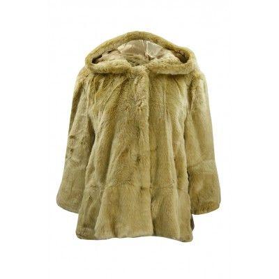 TWINSET Bontjas Faux Fur Camel online shoppen