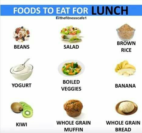 Foods to LUNCH