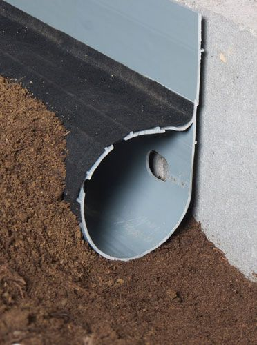 French drains to fix your foundation problems for the for Home drainage issues
