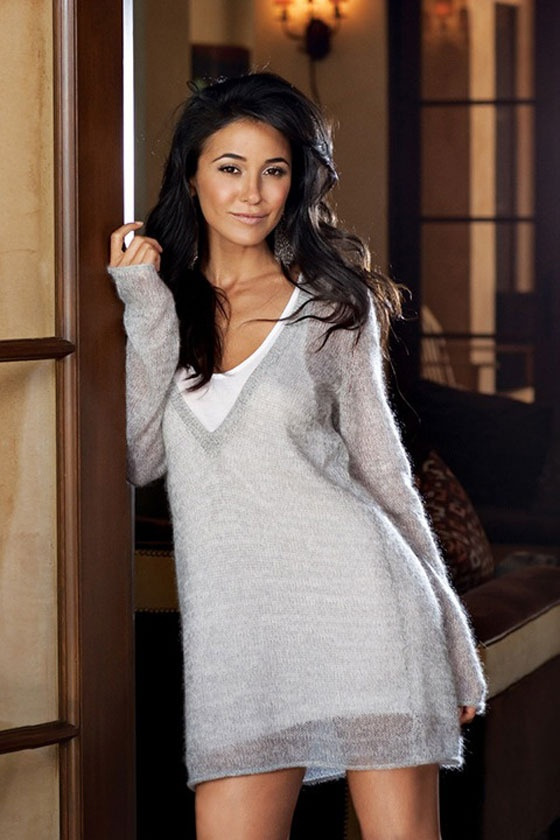 "Emmanuelle Chriqui x ""Entourage"" Promo Shoot"