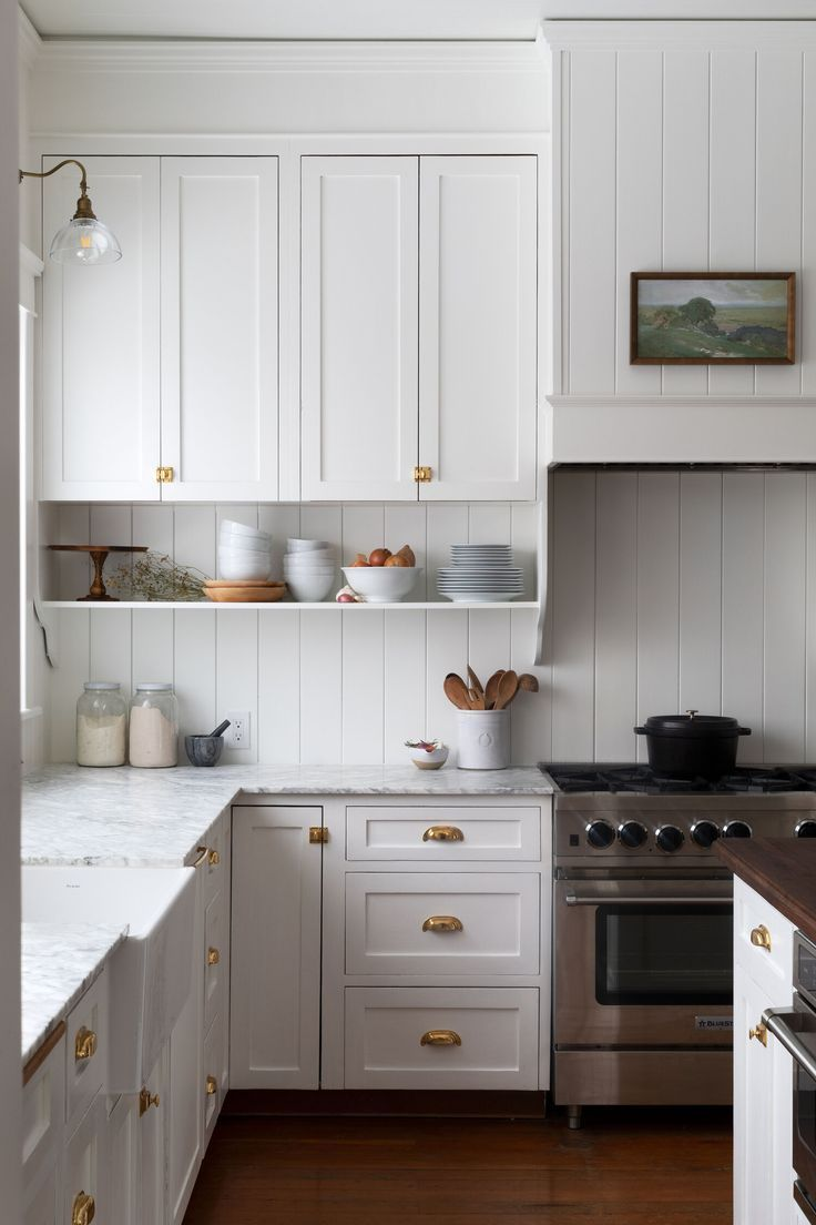 Our Farmhouse Kitchen Reveal The Grit And Polish Farmhouse Kitchen Interior Country Kitchen Farmhouse Country Kitchen