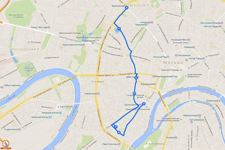 ОбзоR Sтолицы - Прогулочные пешеходные маршруты Москвы