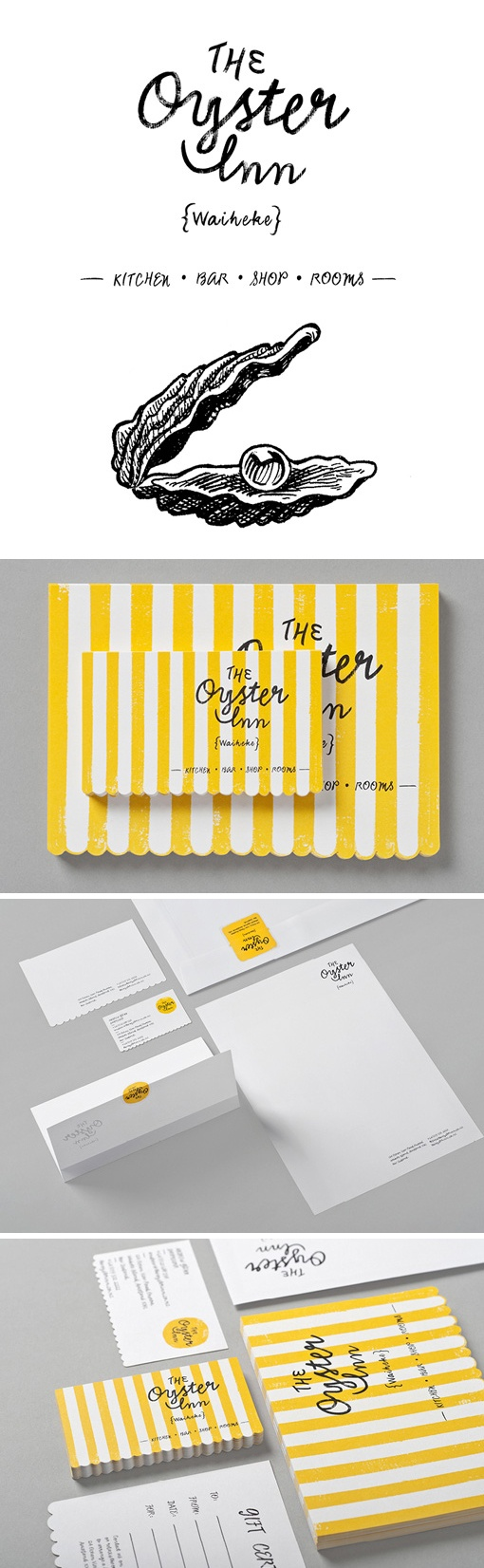Special Group: The Oyster Inn Identity