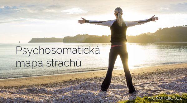 Psychosomatická mapa strachů | ProKondici.cz