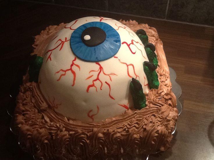 Halloween kake
