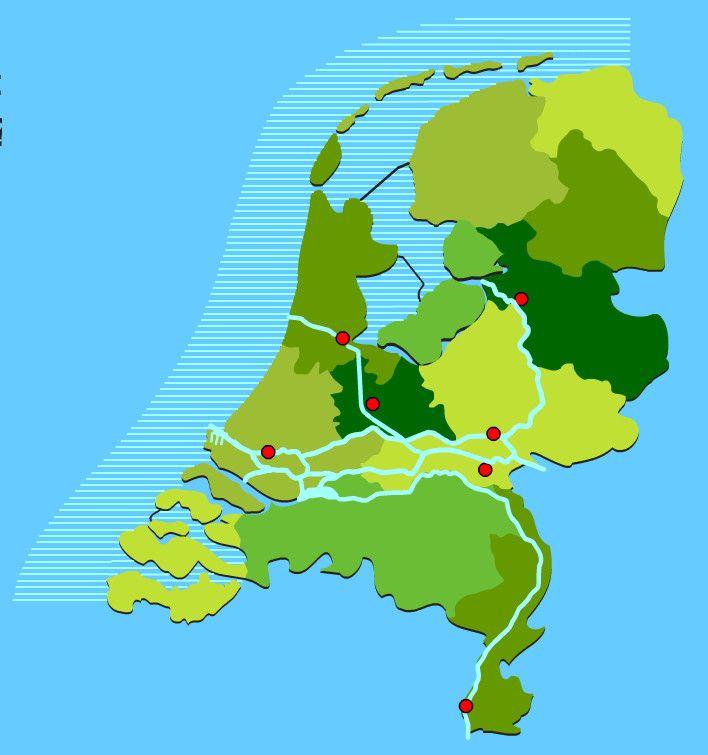 Voor het oefenen van de wateren in Nederland (15 vragen)