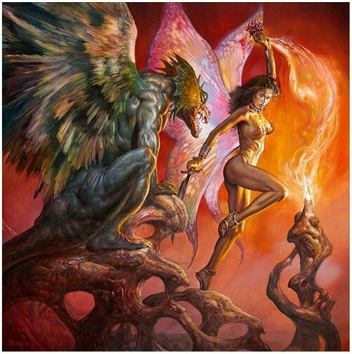Firethorn by Boris Vallejo                                                                                                                                                                                 More