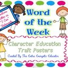 Teaching students about character is very important.  This product includes 36 character education posters with 3 examples of each word on each poster.  $