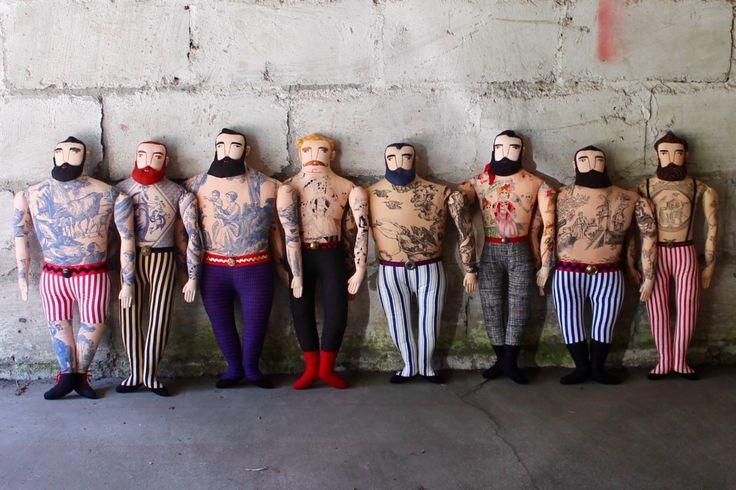 Mimi Kirchner - Tattoo Puppen
