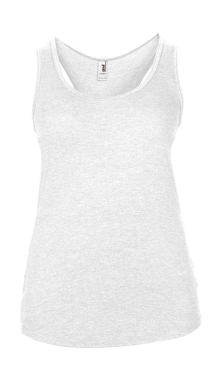 női ujjatlan felső trikó Anvil Racerback Tank 5 féle színben! XS-S-M-L-XL méretekben! Könnyed nyári viselet! 100% pamut! Gyere és nézzél szét nálunk!