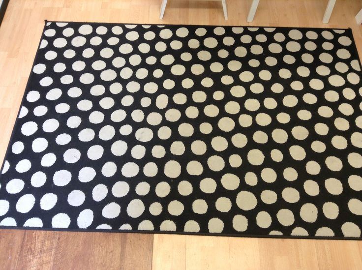 black white polka dot rug ikea home decor