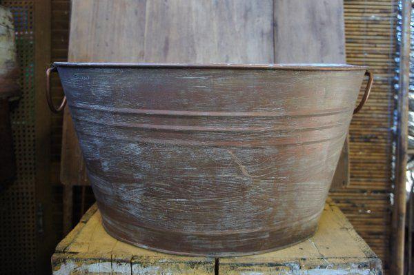 Medium April Copper Tub: