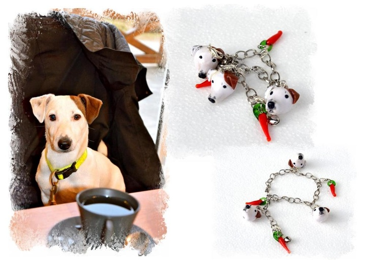 ...Jack Russell Terrier bracelet...his name is Chilli...:-)