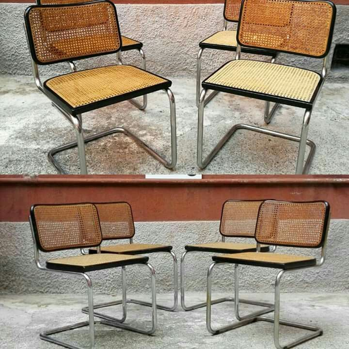 Set di 8 sedie cesca. Gavina anni 70 Paglia di.Vienna in ottime condizioni. Due rifatte da poco. Cromature non ossidate. #magazzino76 #viapadova #Milano #nolo #viapadova76 #M76 #modernariato #vintage #industrialdesign #industrial #industriale #furnituredesign #furniture #mobili #modernfurniture #antik #antiquariato  #armchair #chair #pagliadivienna #sedie #cesca #gavina #anni70