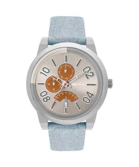 Relógio Mormaii Masculino On The Road Urban Prata - MOJR10AC 2L -  MOJR10AC 2L   Relógios mormaii, Prata e Acessórios masculinos 43364d8f55