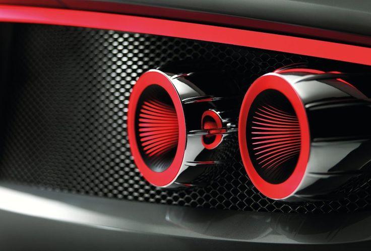 2013 Spyker B6 Venator Taillight