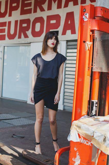 Nathalie Dumeix asymmetrical mini.