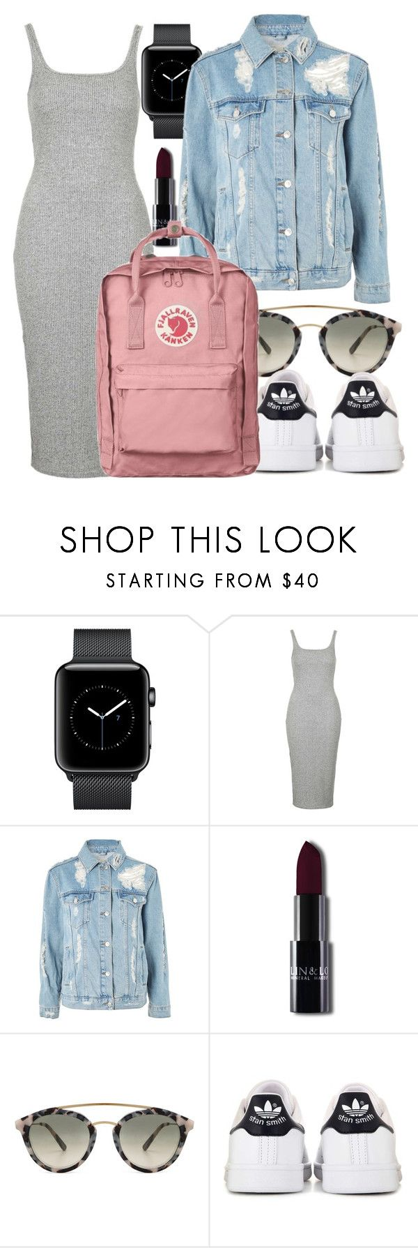 """""""Untitled #5293"""" by beatrizvilar on Polyvore featuring Topshop, Westward Leaning and adidas"""