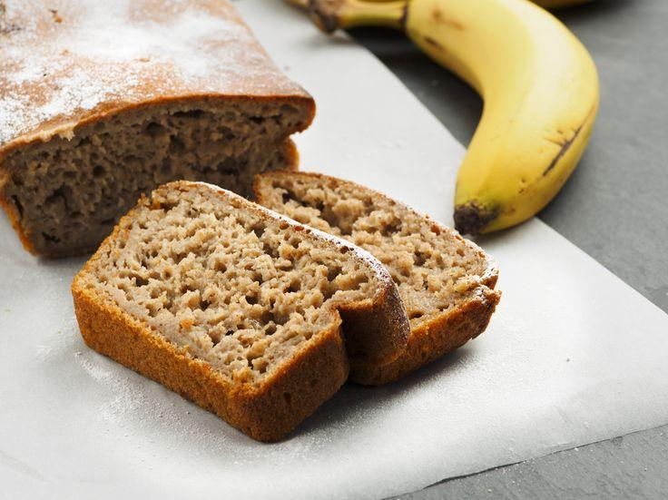 Godaste+helgfrukosten:+Glutenfritt+bananbröd