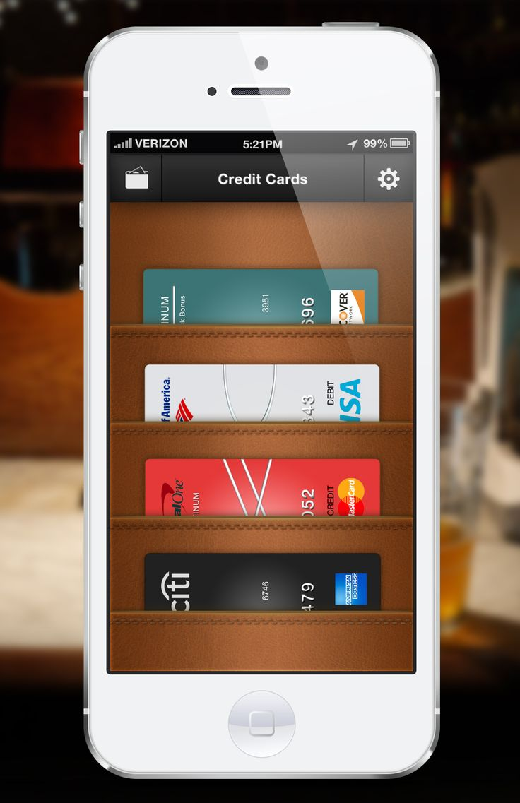Credit Card UI Inspiration