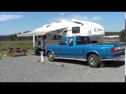 Thunderbird RV Park Campbell River On Vancouver Island British Columbia