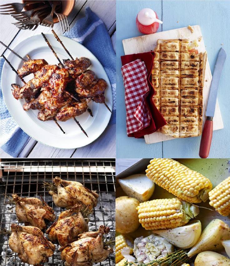 Resepte vir die braai en lekker bykosse | Recipes for the braai and other side dishes  #proudly south african
