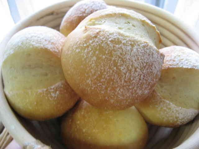 一晩かけてじっくり醗酵パン*丸パン編の画像