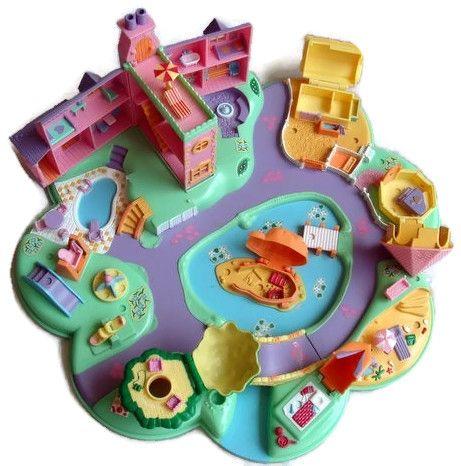 1991 - Polly Pocket Polly's Dream World - Bluebird Toys