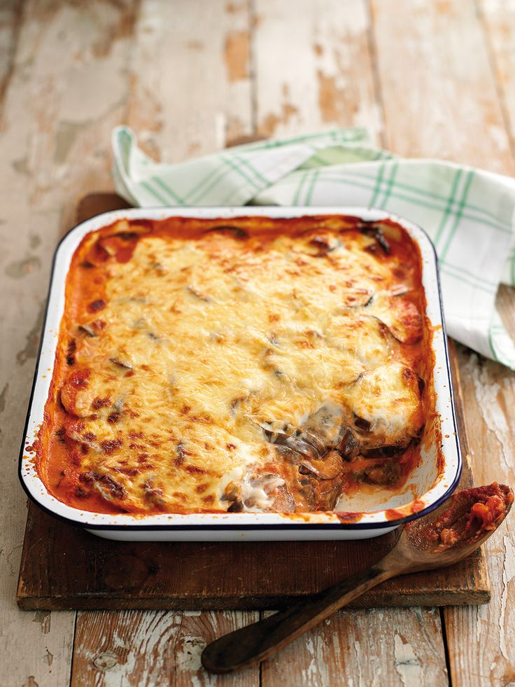 Melanzane is a classic Italian recipe made by layering aubergine, passata and cheese sauce– served with a green salad, it's a summer must-eat.