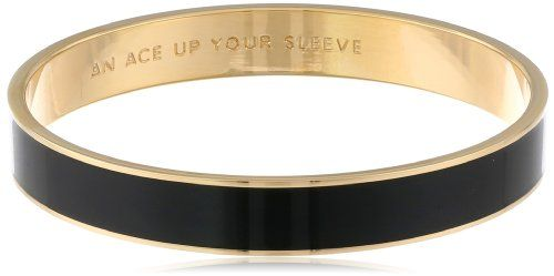 "Kate Spade New York ""An Ace Up Your Sleeve"" Gold-Tone Black Idiom Bangle Bracelet kate spade new york,http://www.amazon.com/dp/B00405R7IY/ref=cm_sw_r_pi_dp_Rj9Hsb1VKBFYDQY6"