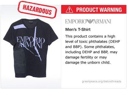 Armani t-shirt   #Detox #Fashion
