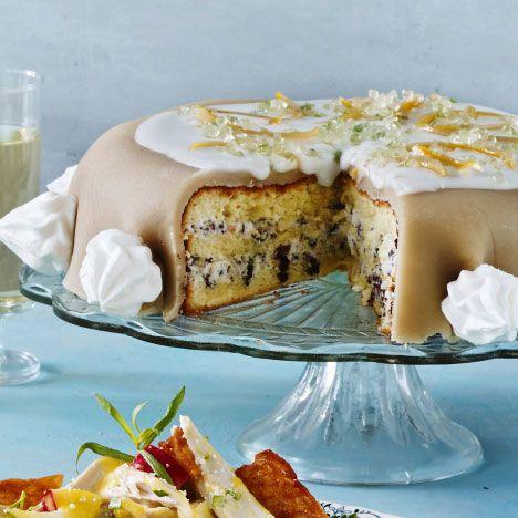 Italiensk dessertkage når det er bedst fyldt med med ricotta, marcipan og…