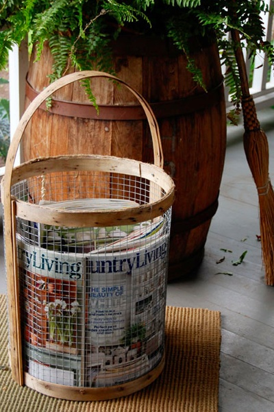 Diy Basket / The Art Of Doing Stuff