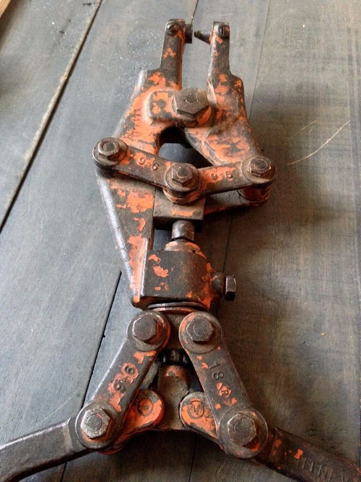 Vintage Tools, Metalworking, Antique Hand Tool, Whitney Metal Hand Punch, Industrial Tools