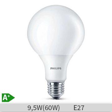 Bec LED Philips glob 60W E27 WW 230V G93 FR ND/4, 871829171704100
