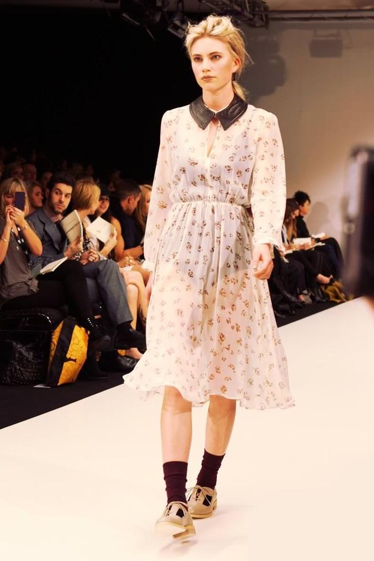 Juliette Hogan, New Zealand Fashion Week, September 2011.