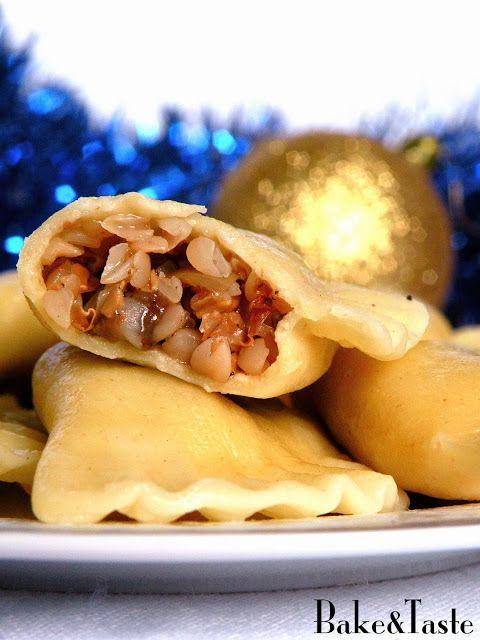 Bake&Taste: Pierogi z kaszą gryczaną i grzybami