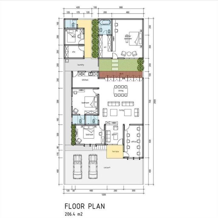 Pin Oleh Clifford Carlton Di Bigger Home Di 2020 Denah Rumah Rumah