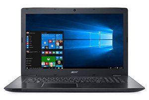 Acer Aspire E5-774G-56KJ PC Portable 17″ Gris (Intel Core i5, 4 Go de RAM, Disque Dur 1 To, NVIDIA GeForce 940MX, Windows 10)