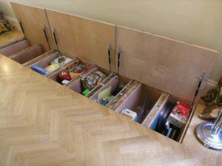 Beautiful Hidden Closet In Floor